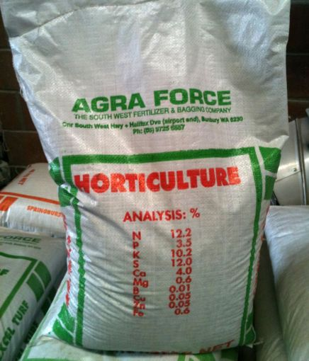 fertiliser bag